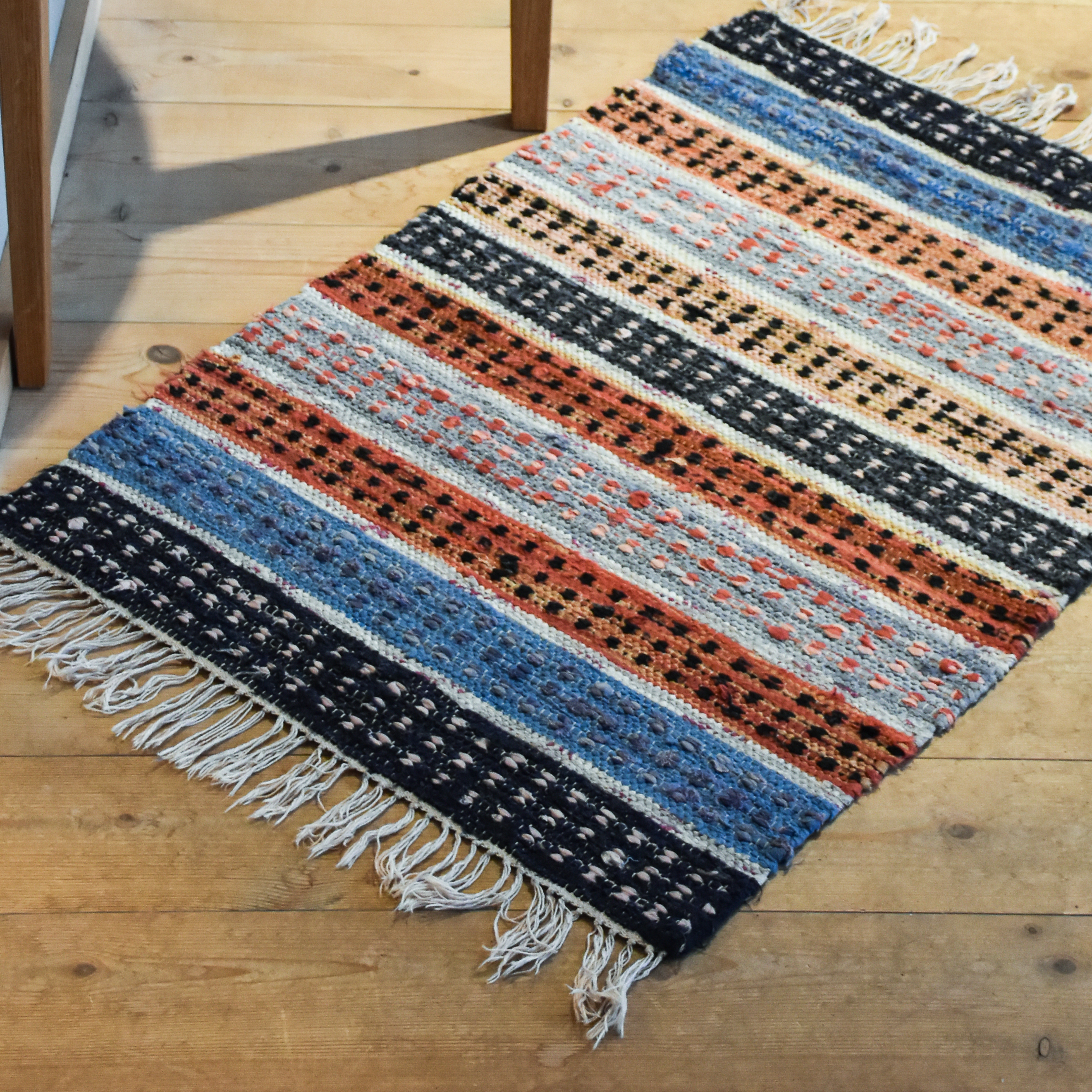 Make Rag Rugs How to make old fashioned rag rugs