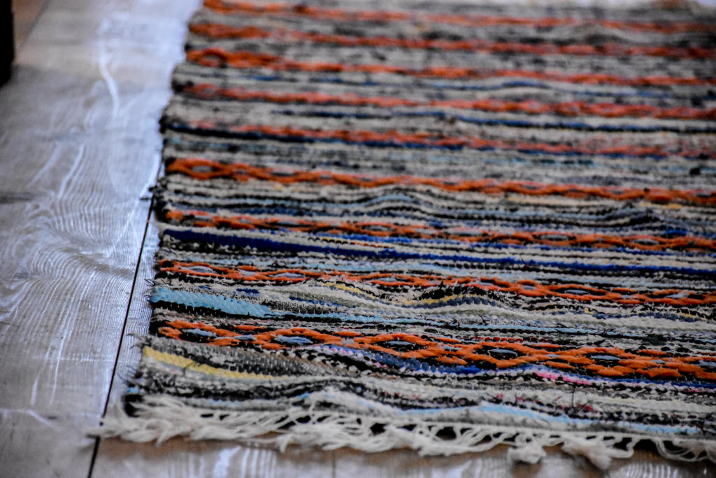 Swedish vintage rag rug 0628 - Rugs of Sweden