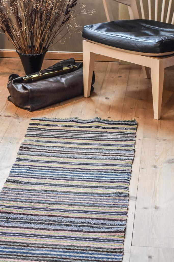 Swedish vintage rag rug 0712 - Rugs of Sweden