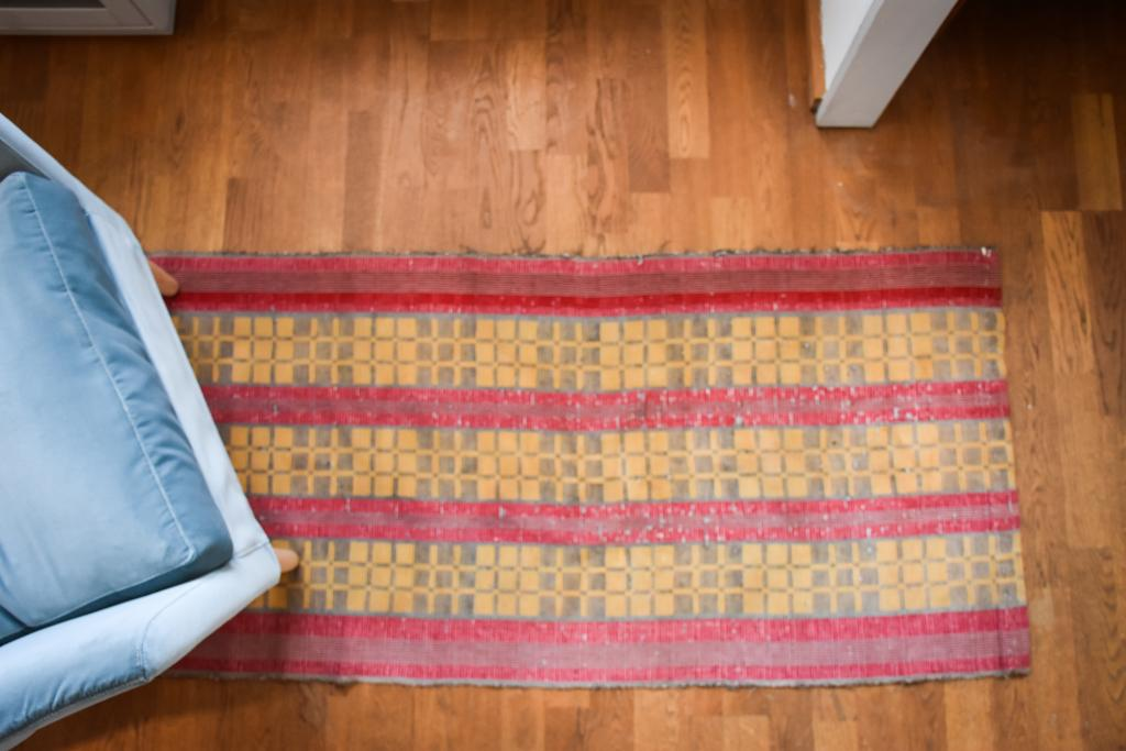 Swedish vintage rag rug 0818 - Rugs of Sweden