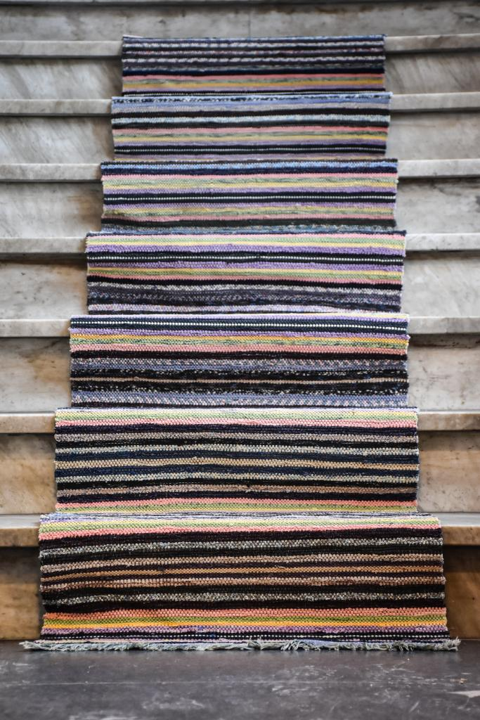 Swedish vintage rag rug 0824 - Rugs of Sweden